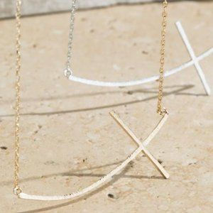 LAST ONE! Faith In You Cross Necklace